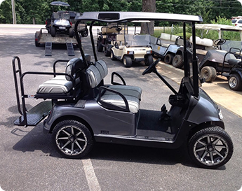 Gold Golf Cart - Golf Cart Sales Cumming GA