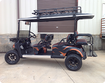 Custom 6 Passenger Cart - Golf Cart Sales Cumming GA
